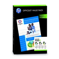 HP 933XL Officejet Value Pack-75 sht/A4/210 x 297 mm